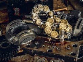 Elementy pompy hydraulicznej